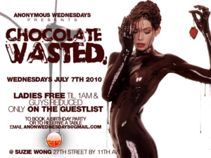 Anonymous Wednesdays July 7th