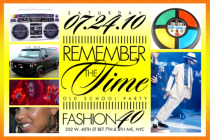 Remember the Time Fashion Addict Saturdays at Fashion 40 July 24