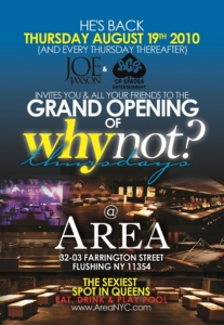 Area Queens Why Not Thursdays NYC Funkmaster Flex