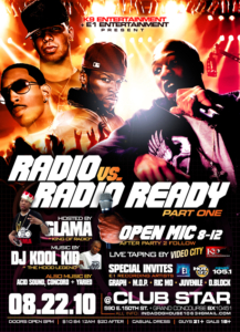 Rodio vs Radio Ready Part 1 @ Club Star NYC August 22