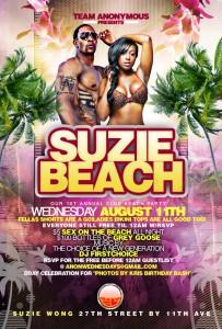 Anonymous Wednesdays Suzie Beach Wong August 11