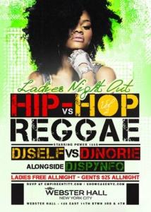 hip-hop vs. reggae webster hall
