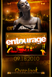 Entourage Saturdays at Overlook NYC