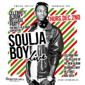 Soulja Boy Webster Hall December 2 NYC