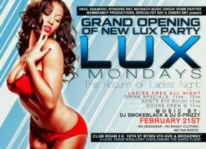 New Lux Mondays