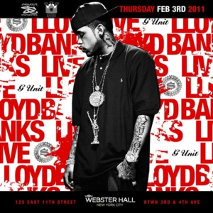 LLOYD BANKS & G-UNIT Perform LIVE