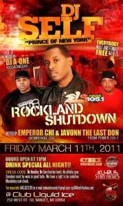 Rockland Shutdown with Dj Self
