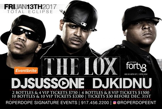 The Lox at stage 48