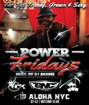aloha NYC power fridays