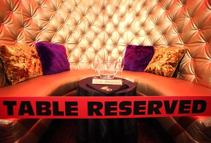 reserved VIPSection