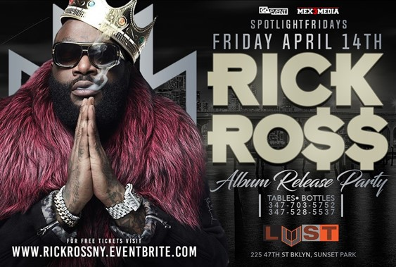 rick ross at LUST