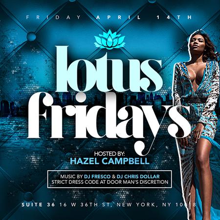 lotus Fridays 4-14-17