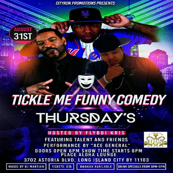TICKLE ME FUNNY COMEDY THURSDAYS