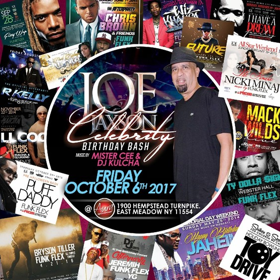 Joe Jaxson VIP Celebrity Birthday Bash @ Aura Friday October 6, 2017