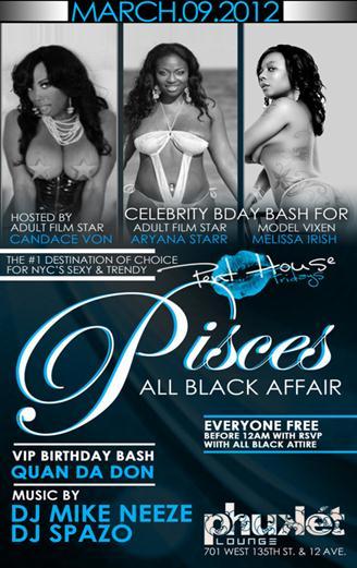 Penthouse Fridays Pisces All Black Affair Phuket Friday March 9 2012