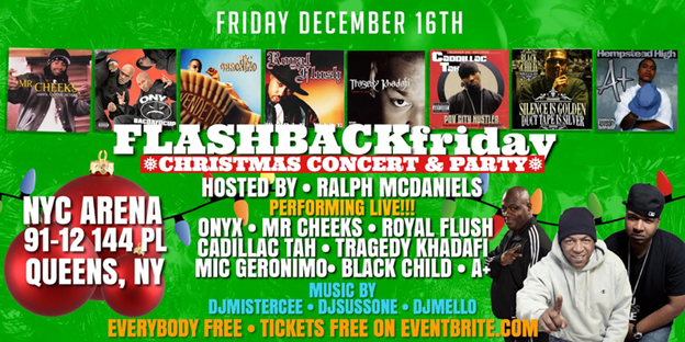 Venues bomb parties club events and parties nyc nightlife event the flash back friday free christmas concert party date friday december 16 2016 venue arena nyc location queens see full event details and malvernweather Choice Image