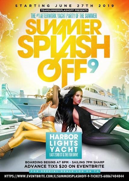 summer splash off flyer