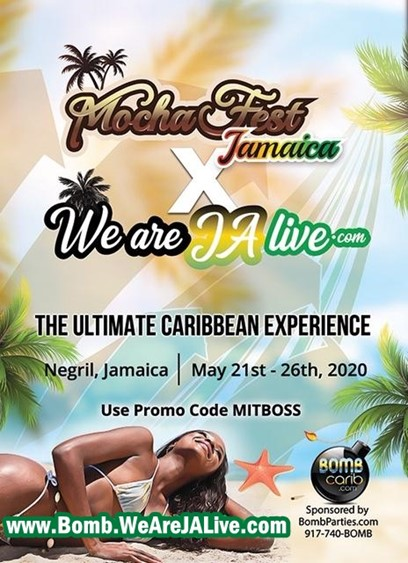 WE ARE JA LIVE 2020 @ Negril Jamaica May 21-May 26, 2020